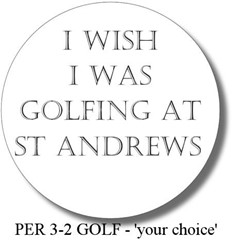 PERsonalised 3-2 - GOLFING IN...