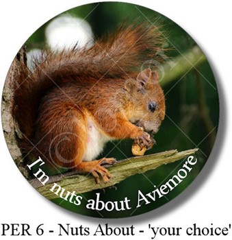 PERsonalised 6 - Nuts About ...